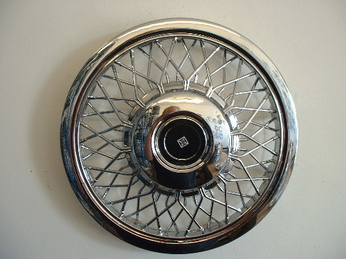 "12 series chrome 14"" hubcaps"