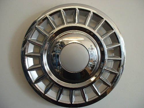 Crown Victoria replica hubcaps