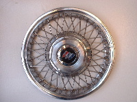90-96 Century spoke hubcaps
