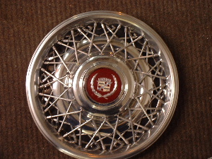 Cadillac spoke hubcaps