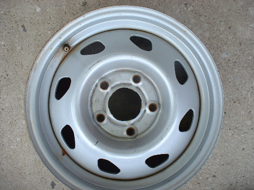 GM steel wheels, rims