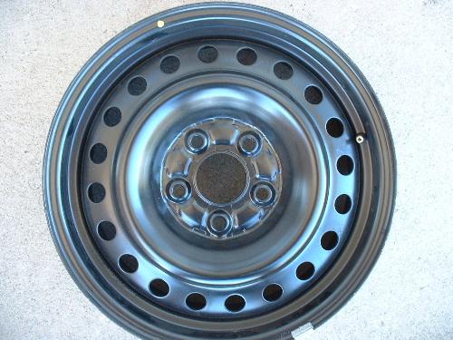 Honda Accord steel wheels