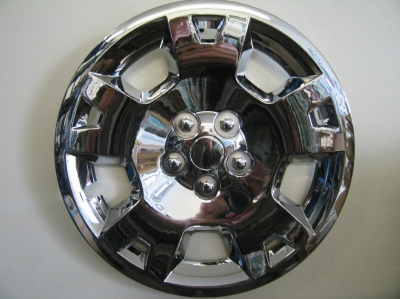 Charger chrome hubcaps