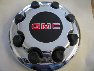 GMC center hub caps