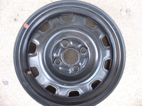 Kia Sephia steel wheels, rims