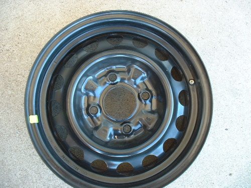 Sentra steel wheels