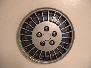 85-89 Grand Am hubcaps