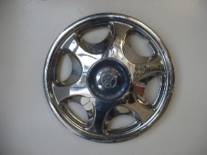 96-00 Corolla chrome hubcaps