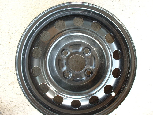 93-02 Corolla steel wheels