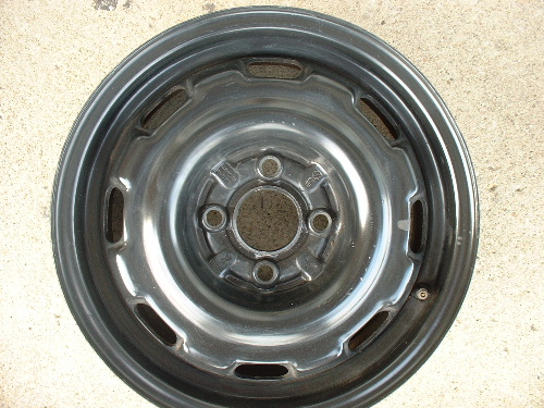 Jetta steel rims