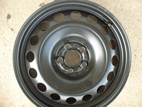 Passat steel wheels