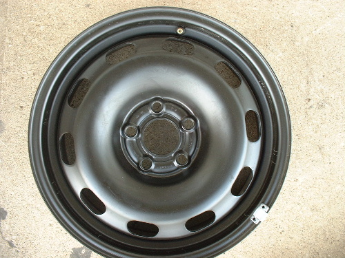 Jetta steel wheels