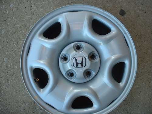 Honda steel wheels, rims