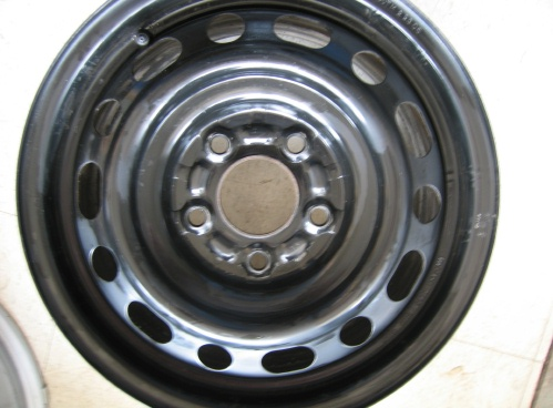 Lancer steel wheel