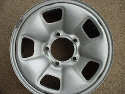 Sidekick steel rims
