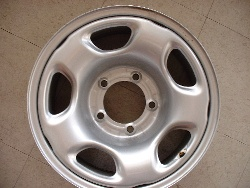 Grand Vitara steel wheels