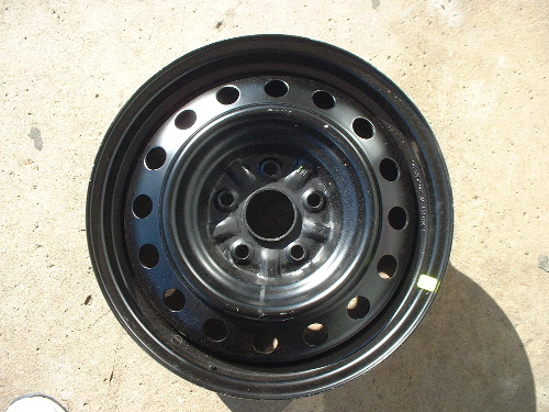 02-07 Camry steel wheels