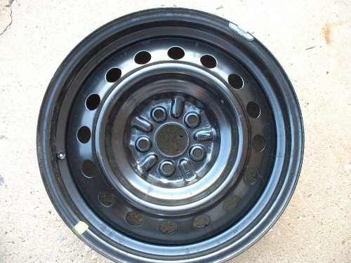 03-07 Matrix steel wheels, rims